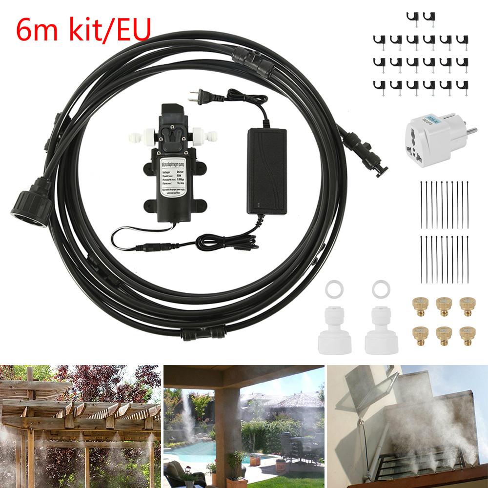 HTB1V3xNdAxz61VjSZFtq6yDSVXai - Water Misting Cooling System Kit summer Sprinkler brass Nozzle Outdoor Garden