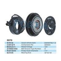 Daihatsu 1.0 Automotive air conditioning compressor clutch / compressor pulley / compressor coil