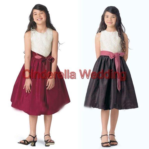 Children's dress  Flower girl dress   girl's gown & Children's DressHT01260