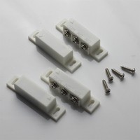JERUAN 2 Pairs Magnetic Reed Switch Normally Open Or Closed NC NO Door Alarm Window Security