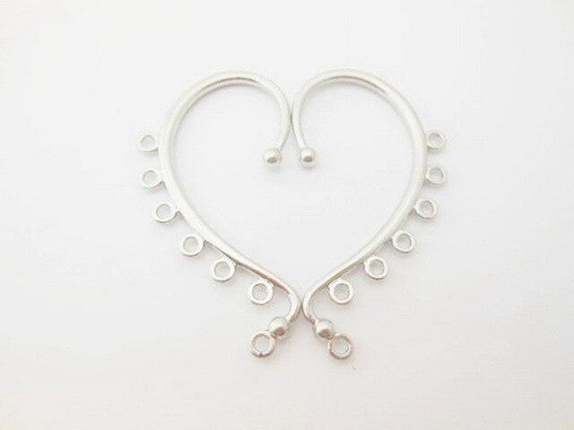 Nouvelle mode belle oreille manchettes bijoux accessoires argent/or bijoux accessoires croix boucles doreilles bijoux accessoires WC4