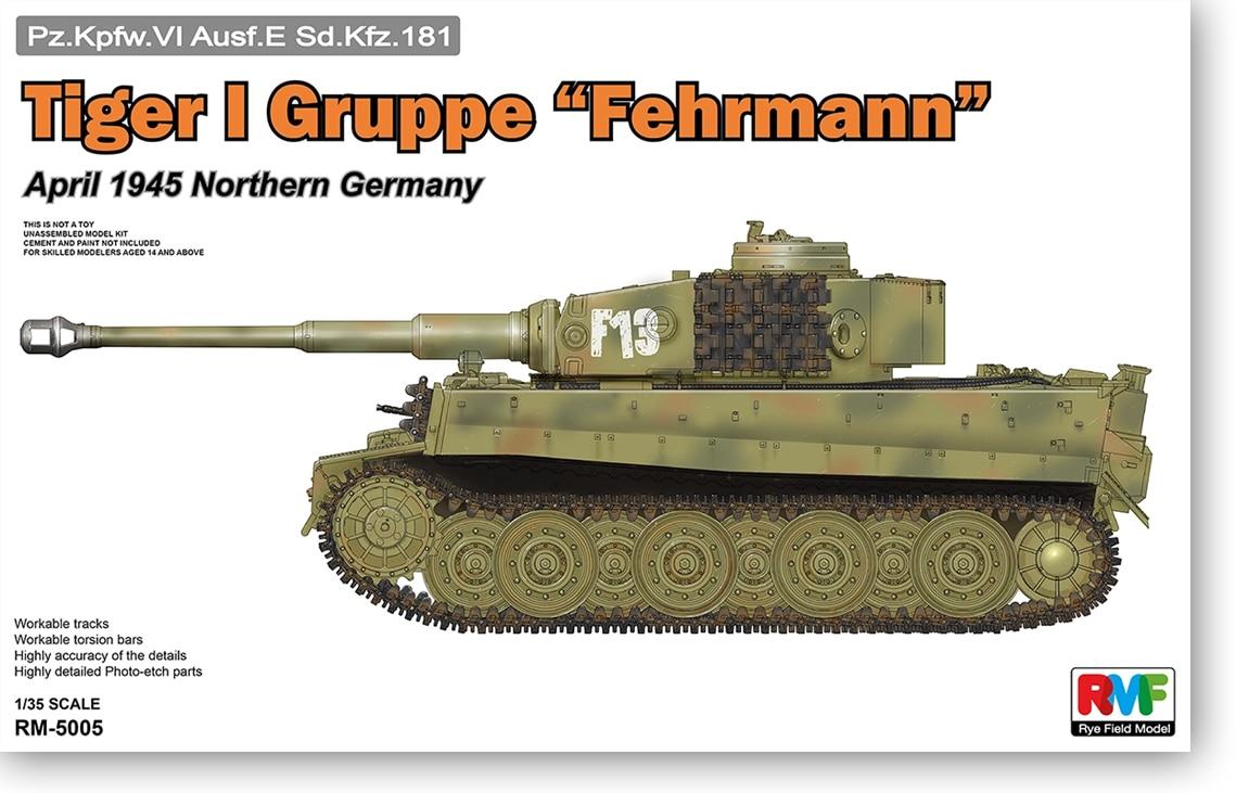 German Tiger I Tank 1/35 World War II Mixed Tiger RM5005 1945 altaya german 1 72 tiger jagdtiger tank world war ii tanks heavy tanks