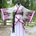 Chinês Antigo hanfu fada vestido de princesa traje concubina imperial ancien chinois usure de la cena vestido traje chino