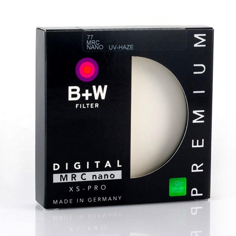 Защитный фильтр B + W MRC Nano UV Haze, ультратонкий УФ-фильтр для объектива камеры 49 52 м 55 мм 58 мм 62 мм 67 мм 72 мм 77 мм 82 мм