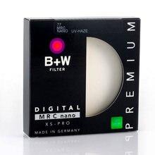 Filtro uv ultra-fino do filtro protetor da névoa uv nano de b + w mrc para a lente 49 52m 55mm 58mm 62mm 67mm 72mm 77mm 82mm