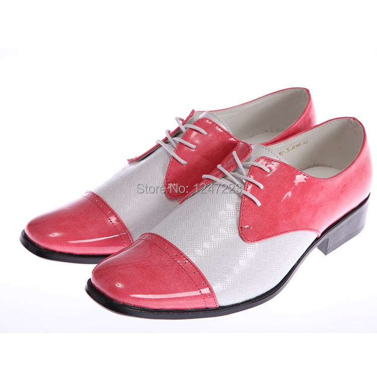 New Arrival Pink And White Men S Loafers Wedding Shoes Party Dress Business Eur Size 39 44 In Women Flats From On Aliexpress