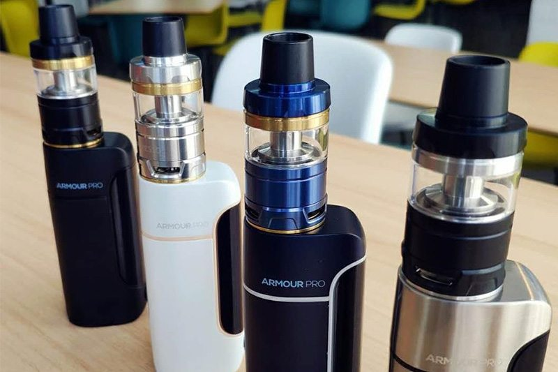Original Vaporesso Armour Pro 100W TC Vape Kit with 5ml2ml Cascade Baby Tank use GT Meshed Coil E-Cigarette Kit VS Revenger (10)