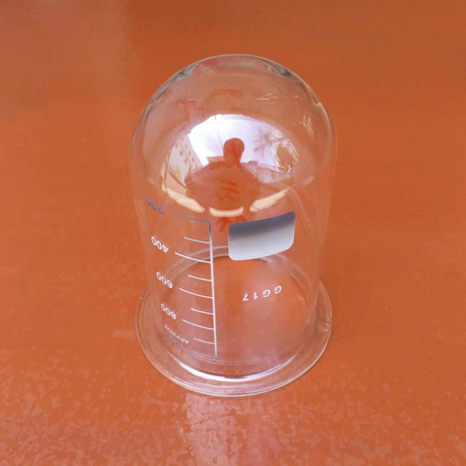 250/500ml Glass Dissolving Cup Bottle Standard Laboratory Chemical Apparatus