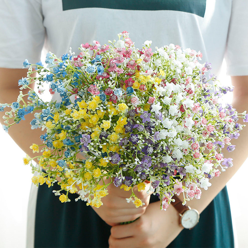 flower decoration for wedding reception.htm htmeing real touch gypsophila artificial flower bouquet latex  real touch gypsophila artificial