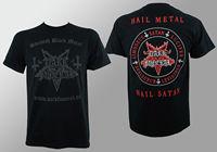 OKOUFEN Authentic DARK FUNERAL Band Swedish Black Metal Hail Satan T Shirt S M L XL