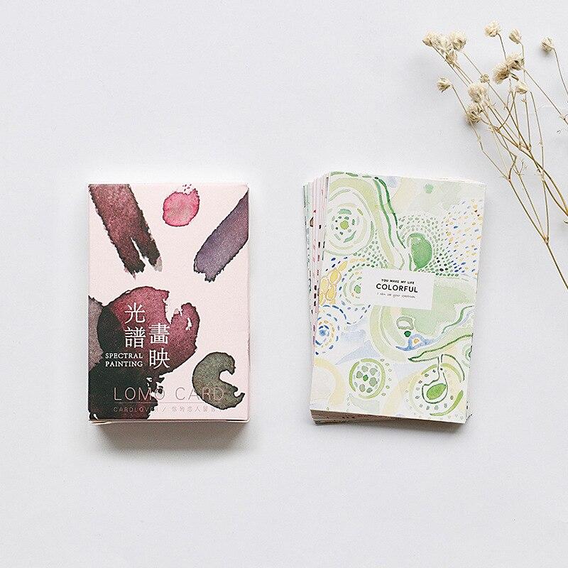 Nett 28 Blätter/set I Und Die Katze Mini Lomo Postkarte/gruß Karte/geburtstag Brief Umschlag Geschenk Karte Nachricht Karte Freigabepreis Office & School Supplies