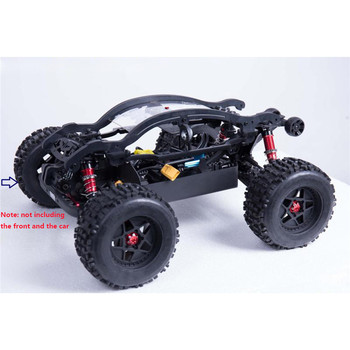 For ARRMA OUTCAST Rangers Roll cage/ front crash QingLeng Roll cage