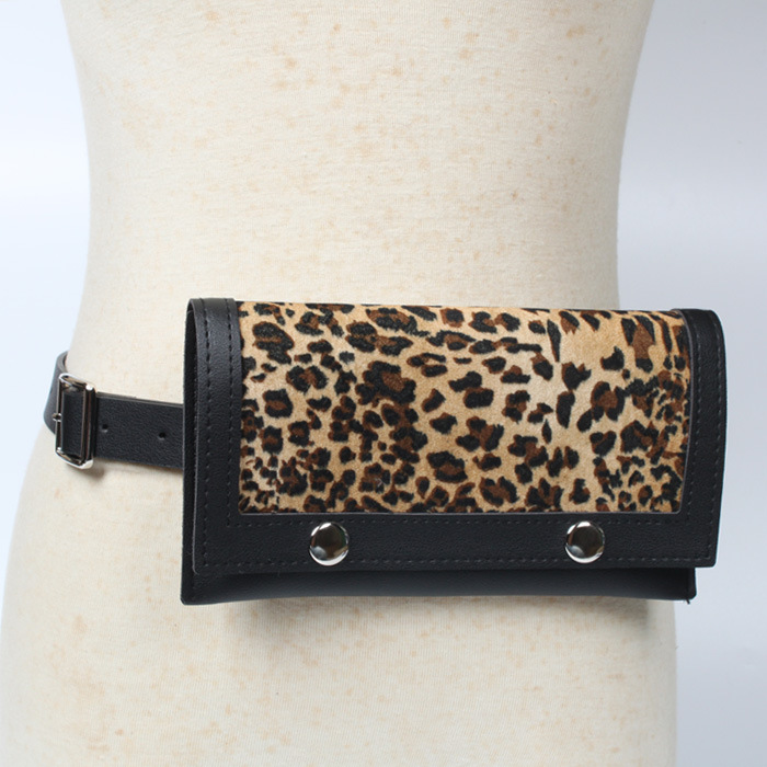 Fashion Leopard Women Waist Bag Belt Female 2018 Brand Money Phone Waist Packs Fanny Pack for Women Waistbag Leather Bum Pouch