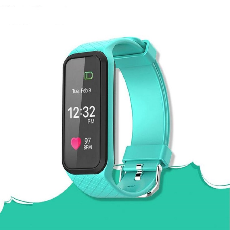 New POTINO L38I Bluetooth Smart Band Dynamic Heart Rate Monitor Full color TFT LCD Screen Smartband