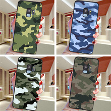 Army Camouflage For Samsung Galaxy S6 S7 Edge S8 S9 S10 S10e Plus Lite Note 8 9 10 A30 A40 A50 A60 A70 M10 M20 phone Case Cover
