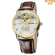 2016 Marca de fábrica de EYKI Romano Retro Caliente del Ocio y de Los Hombres de Negocios Relojes Mecánicos relogio masculino Relojes de pulsera A Prueba de agua EFL 8720