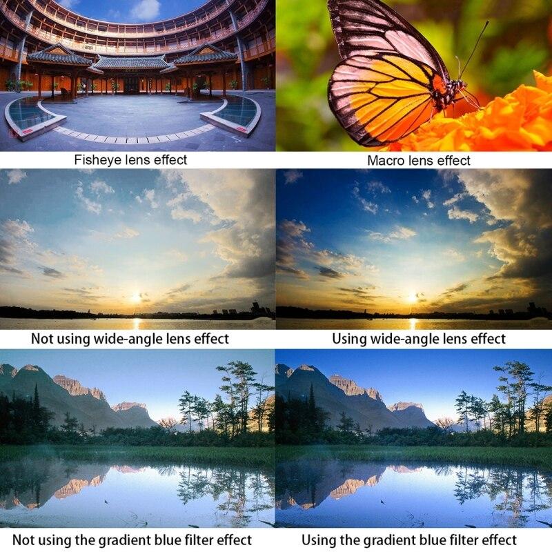 Fotografía Profesional lente estabilizador Universal soporte ajustable para teléfono móvil para iPhone y otros teléfonos inteligentes - 5