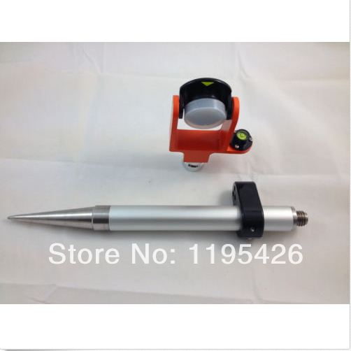 цены  NEW MINI PRISM and 30CM POLE 5/8x11 thread , FOR TOTAL STATIONS