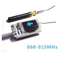 2PCS 868MHz 915MHz SX1276 ESP32 LoRa 0 96 Inch Blue OLED Bluetooth WIFI Lora Kit 32