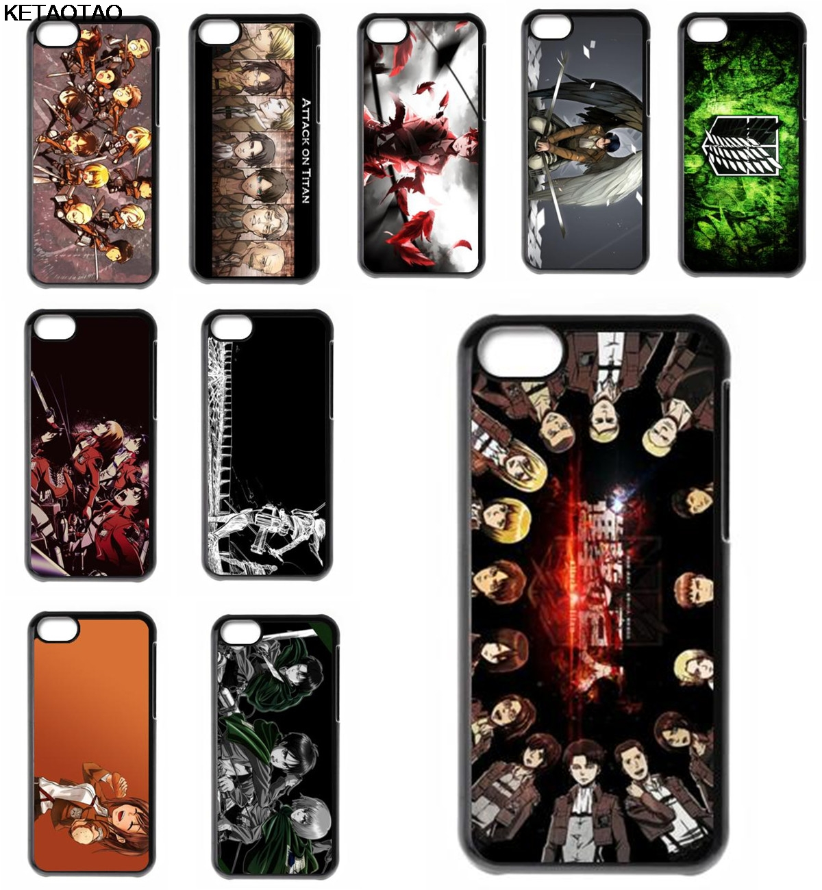 KETAOTAO Attack on Titan Shingeki no Kyojin Phone Cases for Samsung S4 5 6 7 8 9 NOTE 2 3 4 5 7 8 Case Soft TPU Rubber Silicone