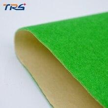 middle green The scene building material model of turf grass sand powder viscose nylon velvet paper
