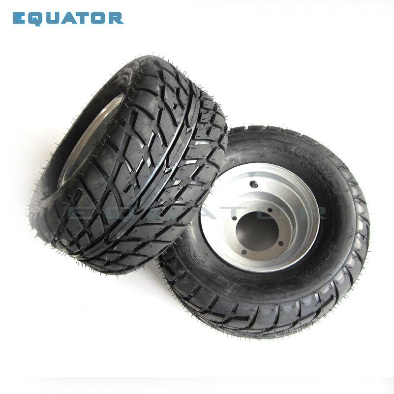 ATV 8 pouces sous vide haute résistance à l'usure pneus 18X9. 50-8 18*9.50-8 (220/55-8) pneus de route avec roues en fer - 5