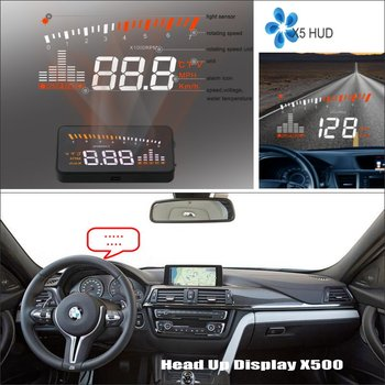 Car Computer Screen Display Projector Refkecting Windshield For BMW 3 M3 E30 E36 E46 - Safe Driving Screen image