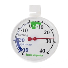 Refrigerator Freezer Thermometer Fridge Refrigeration Temperature Gauge Home use цена