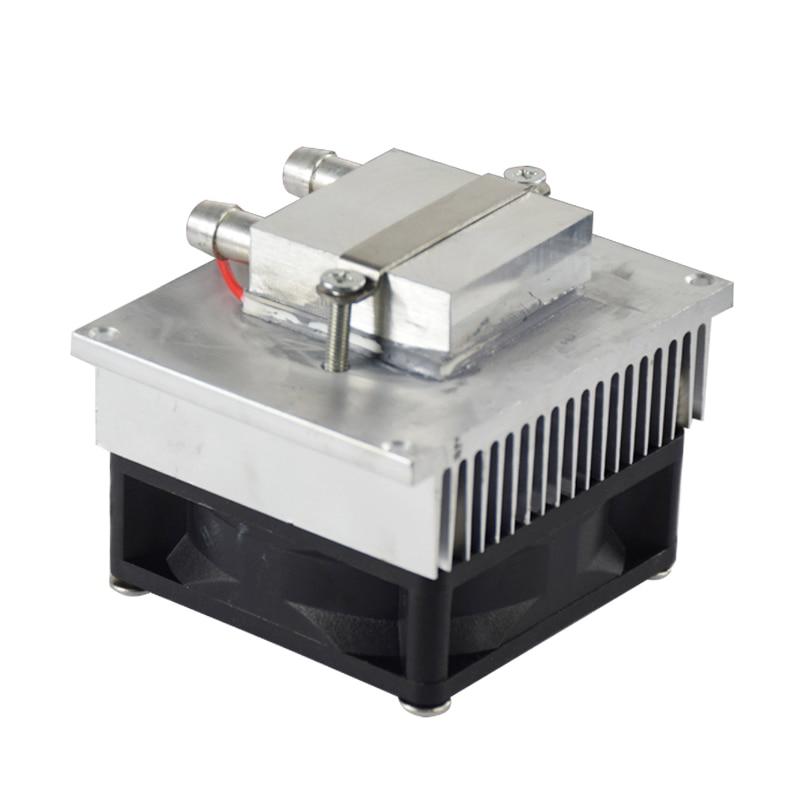 FAI DA TE kit di refrigerazione a semiconduttore raffreddato ad acqua aria condizionata 12 V frigorifero elettronico testa acqua CPUFAI DA TE kit di refrigerazione a semiconduttore raffreddato ad acqua aria condizionata 12 V frigorifero elettronico testa acqua CPU