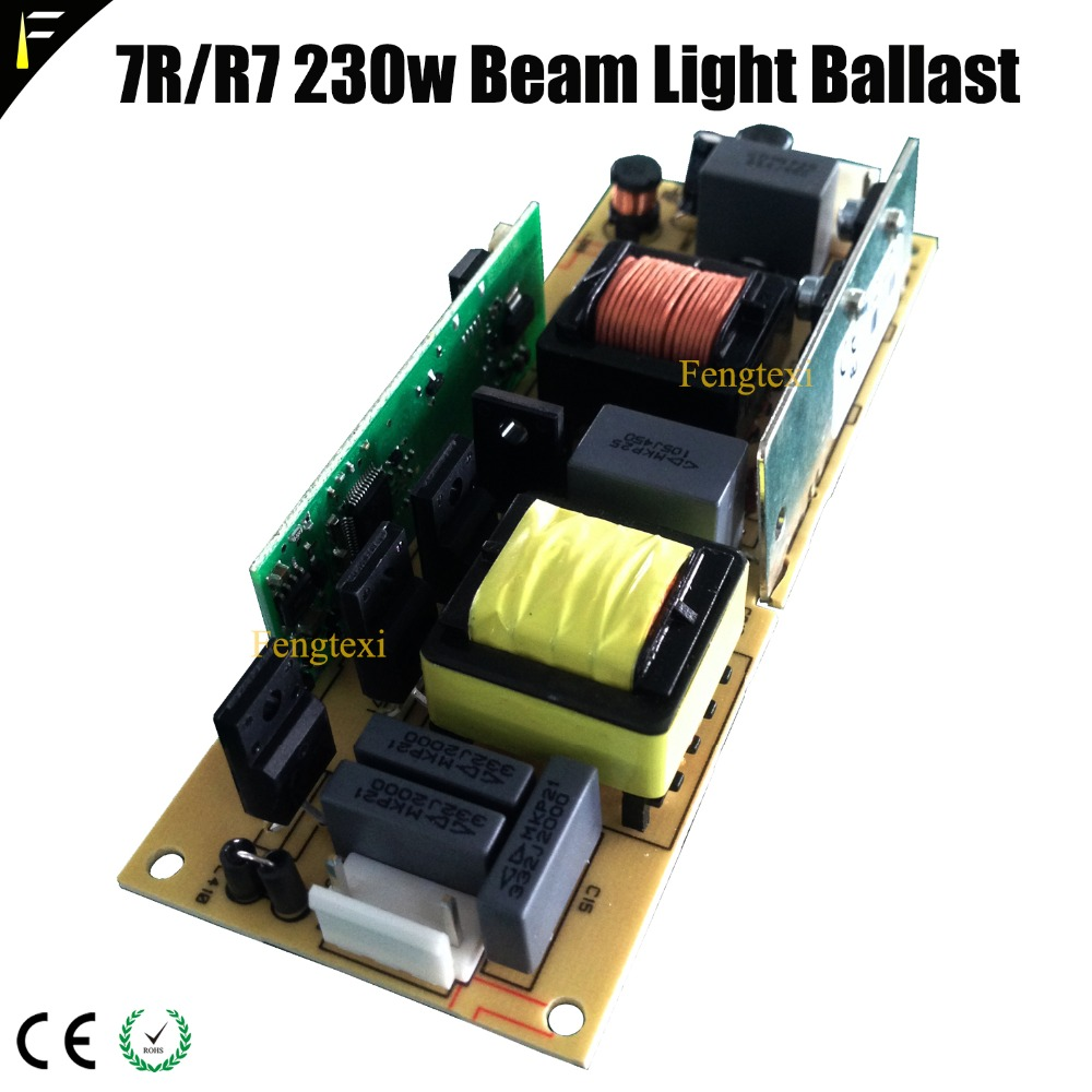 2pc/lot OROSSM 230 7R Ballast Ignitor Driving For Stage Shapry Beam R7 230 Watt Lamp Bulb Replacement