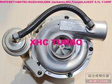 NEW RHF5/8971480750 VIBX Turbo Turbocharger para ISUZU Trooper 4JG2T 3.1L 113HP