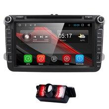 Android 6.0 1024*600 car dvd player gps for VW Skoda POLO GOLF 5 6 PASSAT CC JETTA TIGUAN TOURAN Fabia Caddy car gps dvd