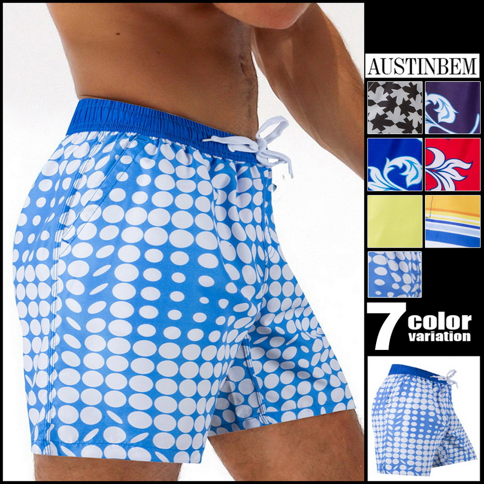 SportsCenter Store Mens Shorts Board Shorts Summer Beach Homme Bermuda Short Pants Quick Dry Board Beach Short