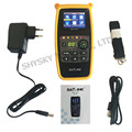 "100% Original Satlink WS-6933 DVB-S/S2 FTA C&KU Band Digital Satellite Finder Meter 2.1"" LCD Screen wtih Compass"
