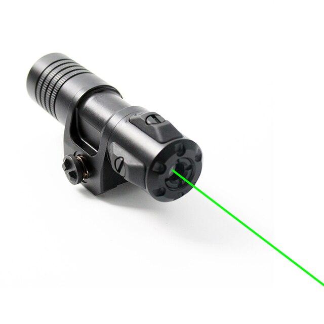 זרוק חינם Laserspeed מתכוונן לייזר sight עמיד למים רובה לייזר מצביע רכבת רכוב ציד לייזר