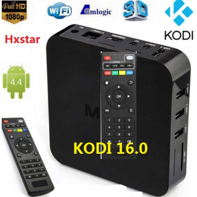 1 unids/lote Android TV BOX Amlogic S805 Quad Core IPTV Android 4.4 Kitkat con mejor que MX, M8, CS918, Minix