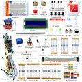 Adecuado DIY eléctrico nuevo proyecto LCD1602 Starter Kit para Arduino Uno R3 mega 2560 PDF libro libre auriculares DIY diykit
