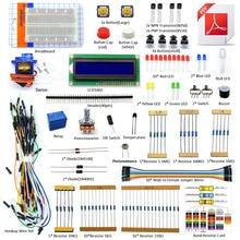 Adeept Elétrica DIY Novo Projeto Starter Kit LCD1602 Para Arduino UNO R3 Mega 2560 PDF Livro Frete grátis fones de ouvido diy diykit