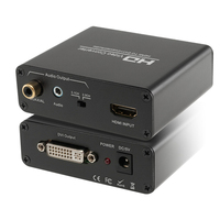 Free Shipping HDMI To DVI And Audio Converter