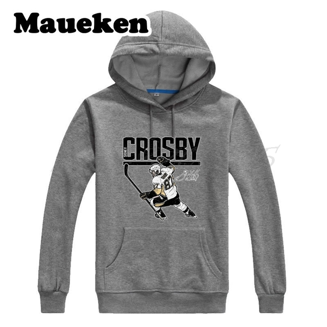 1e4a197545d Men Hoodies Canada Sid Sidney Crosby 87 Sweatshirts Hooded pittsburgh Thick  for penguins fans gift Autumn Winter W17100607