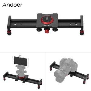 Image 1 - Стабилизатор для камеры Andoer, Рельс из алюминиевого сплава для DSLR камеры, аксессуары для фотографии, 30/40/50 см