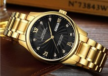 39mm Sangdo Luxury watches Automatic Self-Wind movement Sapphire Crystal High quality 2017 new fashion Men's watch 069JKA