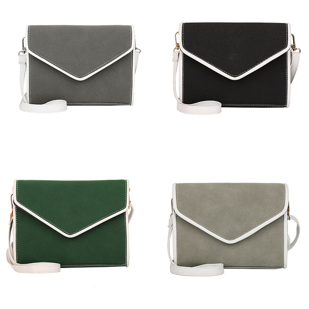 Fashion Women PU Leather Solid Color Mini Shoulder Bag Lady Girls Hit Color Casual Crossbody Messenger Bags Popular free shipping new fashion brand women s single shoulder bag lady messenger bag litchi pattern solid color 100