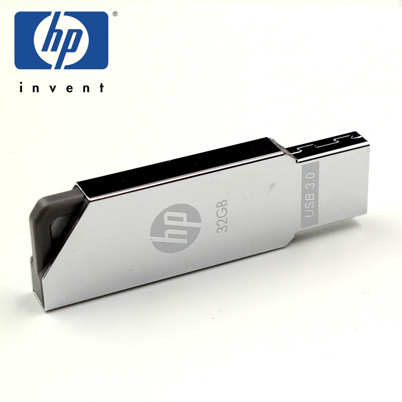 HP USB Flash Drive Pen Drive 16gb 32gb Flash Drives cle USB 3.0 X740 Silver Metal Memoria USB Stick Pendrive Storage U Disk цена