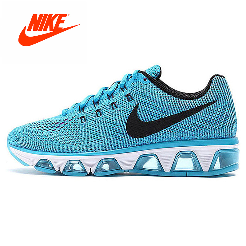 Original New Arrival Authentic NIKE AIR MAX TAILWIND Full Palm Cushioning Women's Running Shoes Air Mesh Sneakers Sport Shoes