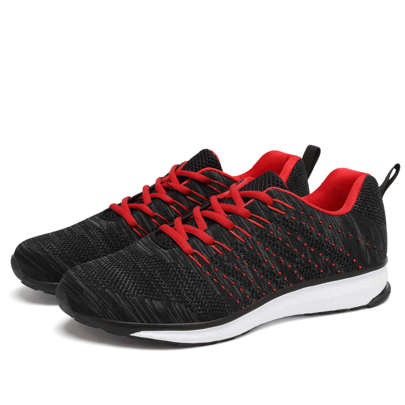 Uminder 2018 Flyknit кроссовки Для мужчин осенние дышащие спортивные кроссовки для мальчиков студентов прогулочная обувь