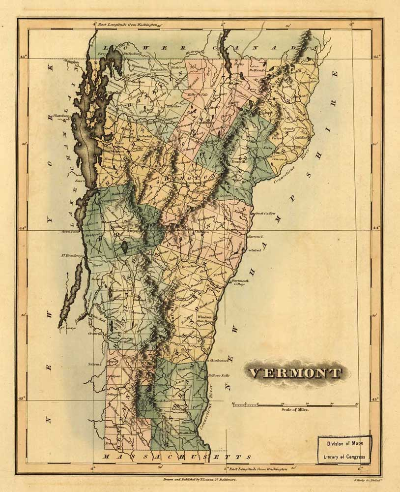 Popular Vermont MapsBuy Cheap Vermont Maps Lots From China - Vermont map usa