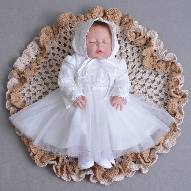 Aliexpress.com : Buy White Birthday Baby Girls Dress Pink ...