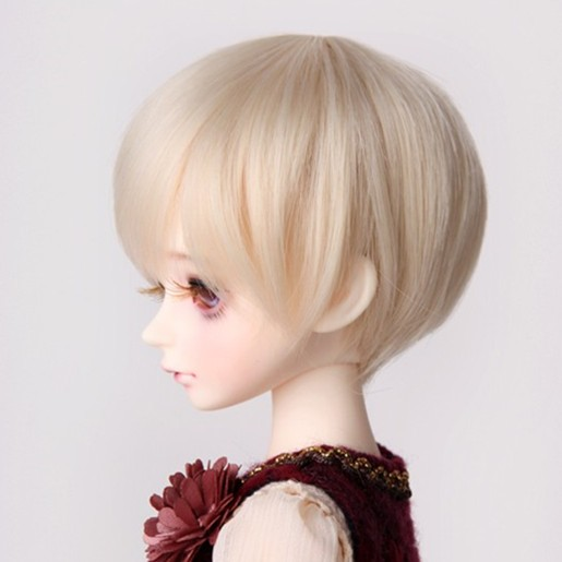 1/3 8-9 BJD Super Dollfile Short Fashion Uncle's Hair Wig High Temperature For BJD Doll Wig Free Shipping beautiful classic hair brown and auburn lightspot fashion hair lady wig short hair high quality free shipping
