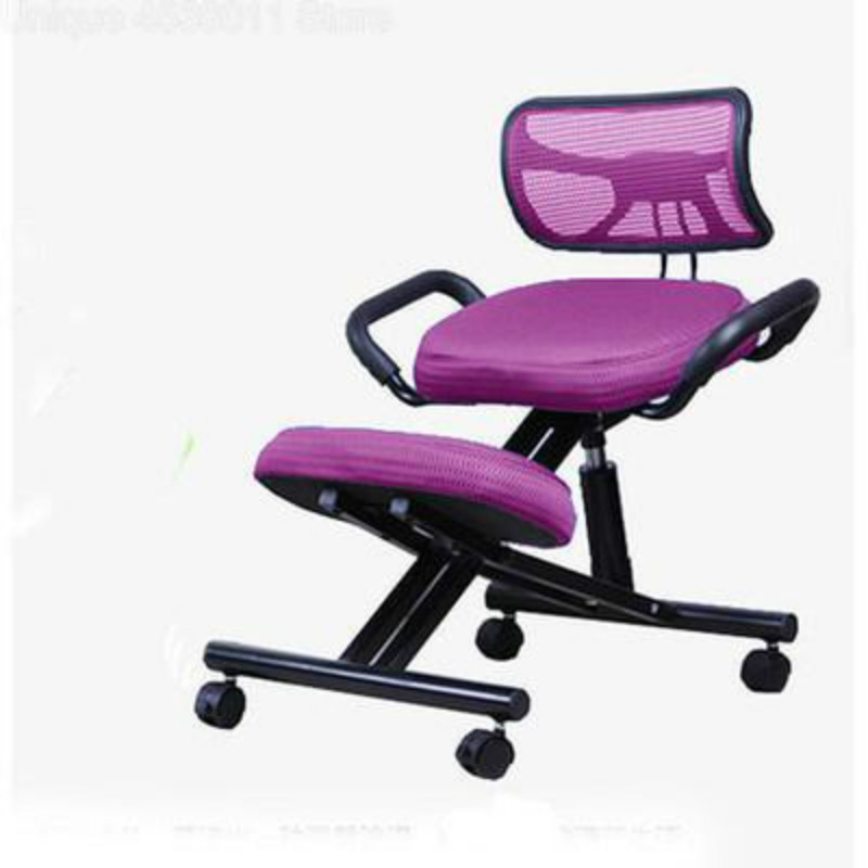 Pleasant Us 132 59 29 Off Ergonomic Kneeling Chair Backrest Student Posture Chair Adult Home Computer Chair Desk Writing For Sale Office Chair In Children Pabps2019 Chair Design Images Pabps2019Com